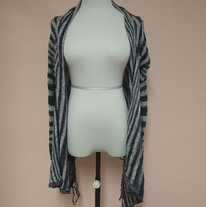 Billabong knitted and striped cardigain